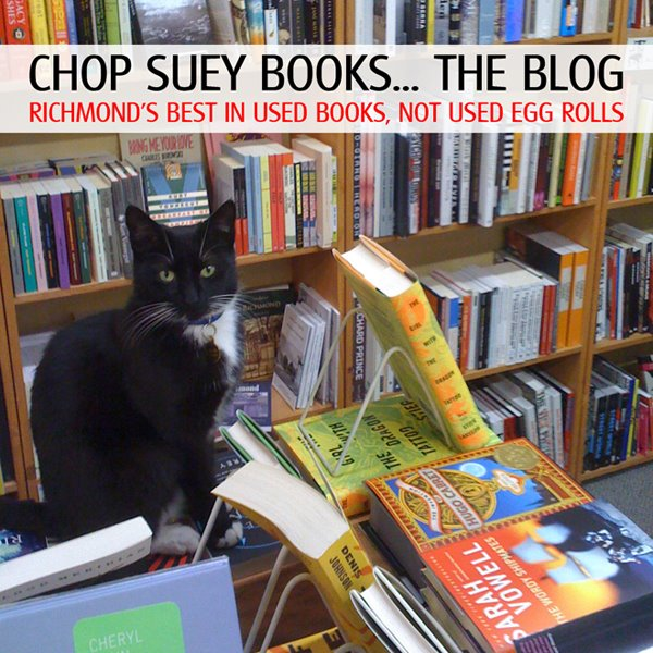 Chop Suey Books... The Blog