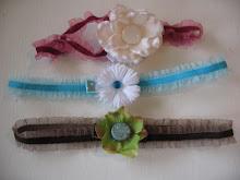 Skinny Velvet Headbands $3