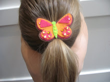 Large Butterfly Ponytail