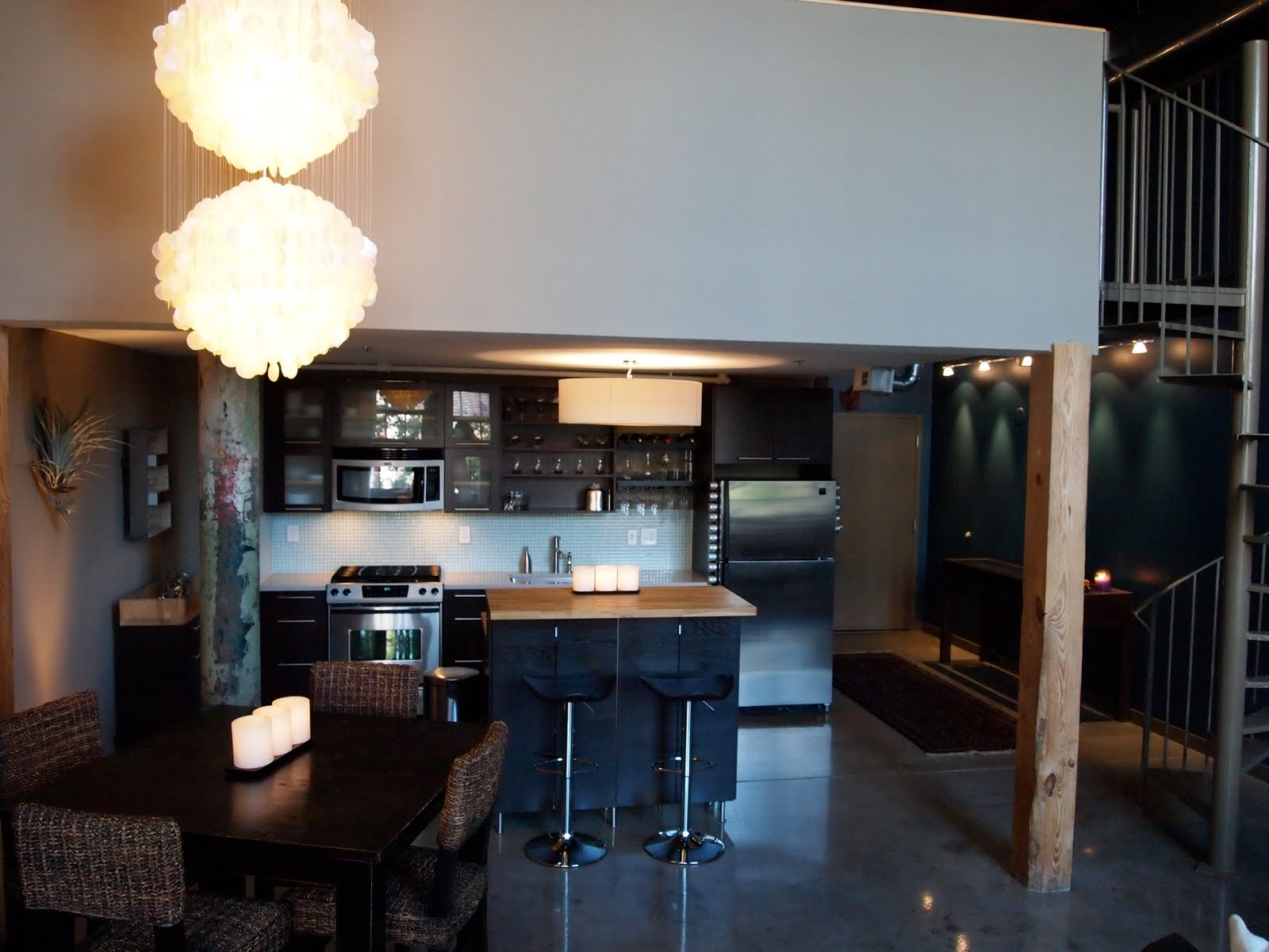 Atlanta real estate for rent new york style loft for New york style kitchen