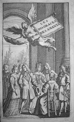 Les disgrâces des amants (1692) par M. le Chevalier Louis de Mailly. Rare à l'état broché non rogné dans Bibliophilie, imprimés anciens, incunables mailly