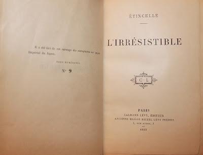 L'affaire de Madame la baronne Double dans Bibliophilie, imprimés anciens, incunables etincelle