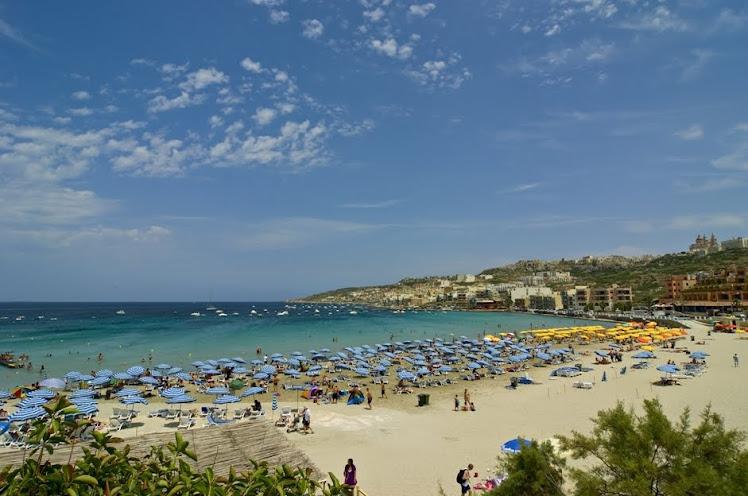 Malta -Mellieha Bay