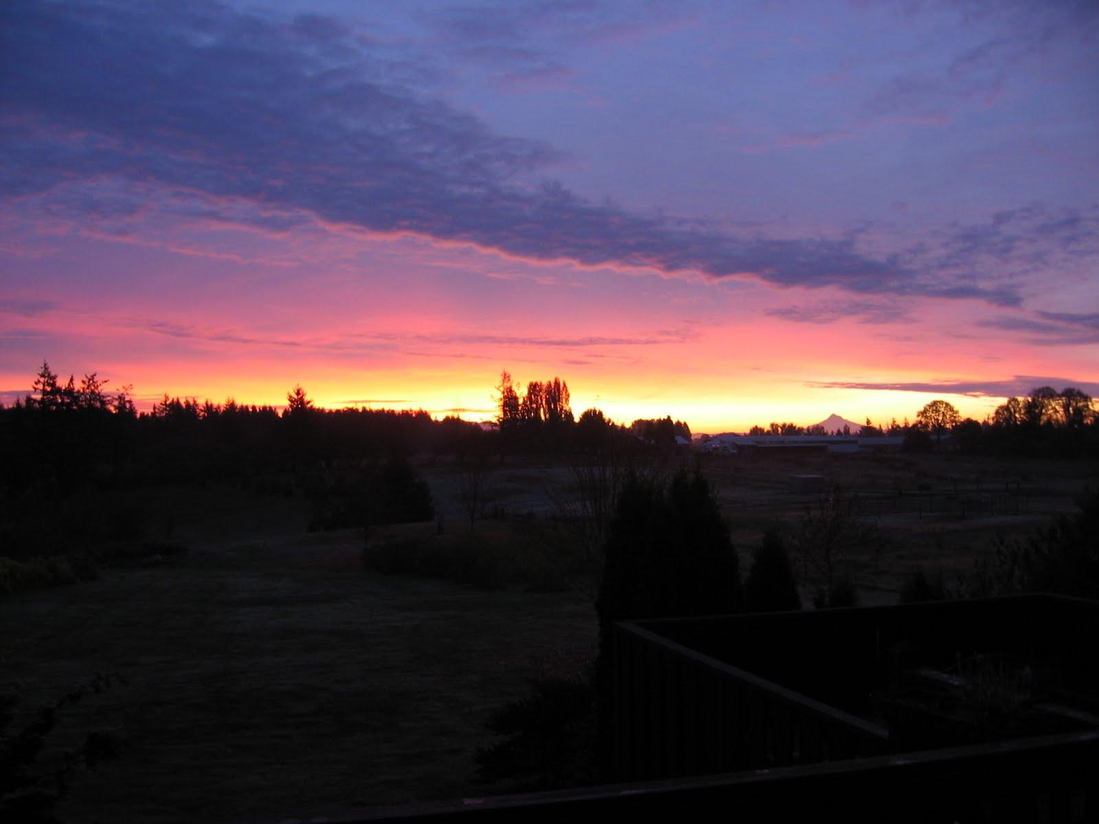 Sunrises and Sunsets