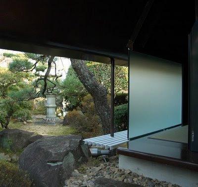 The foundation of life modern japanese tea house steel for Modern house japanese design