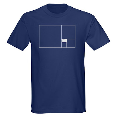 perfect golden rectangle t shirt
