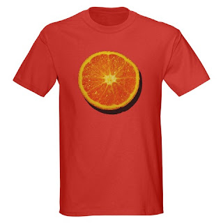 tshirt58 half of five a day half an orange t shirt