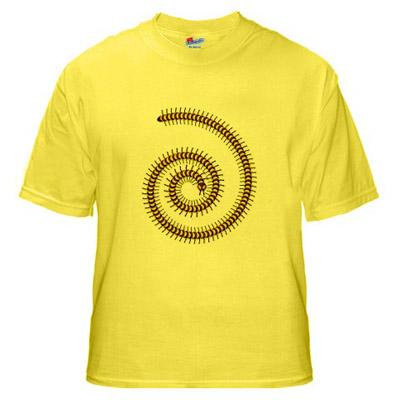 golden+millipede+t shirt Golden Millipede t shirt