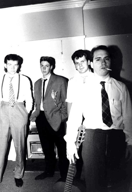 Glee Club backstage circa 1983
