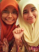 nurfatheen nabilah *sister :)