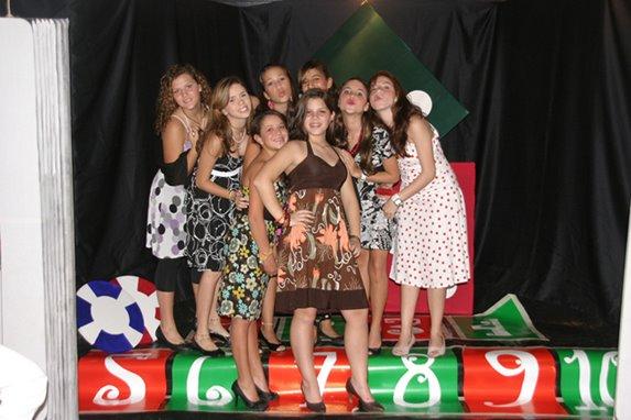 Fiesta CASINO de Andrea (14 años)