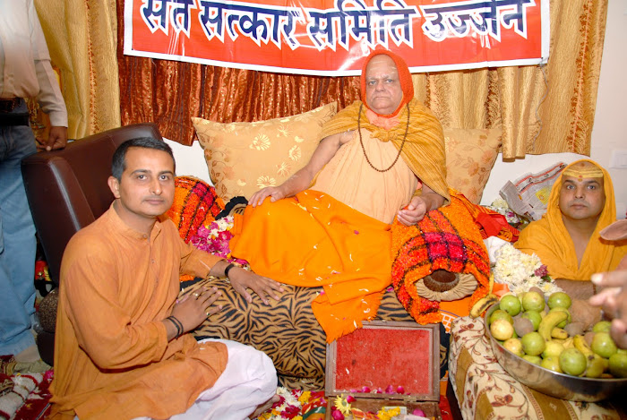 KAPIL SHELAT WITH SHANKARACHARYAJI