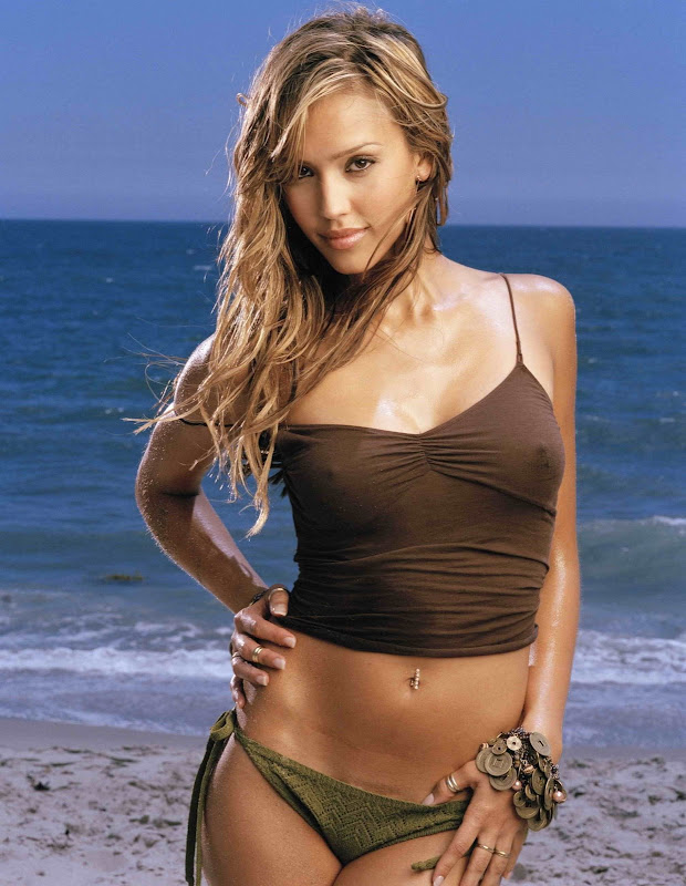 Gorgeous Jessica Alba Very Hot Glery title=