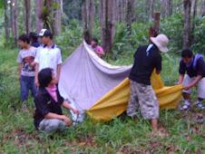 tegak tenda