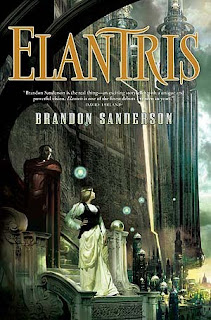 Elantris review Brandon Sanderson