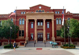 Beautiful town hall building in Southlake Texas