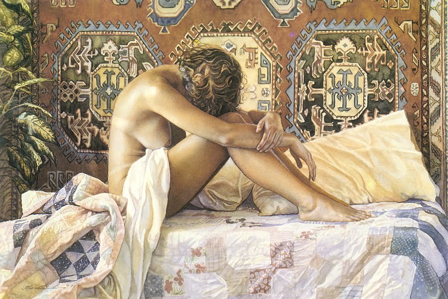 Steve Hanks- Model at rest