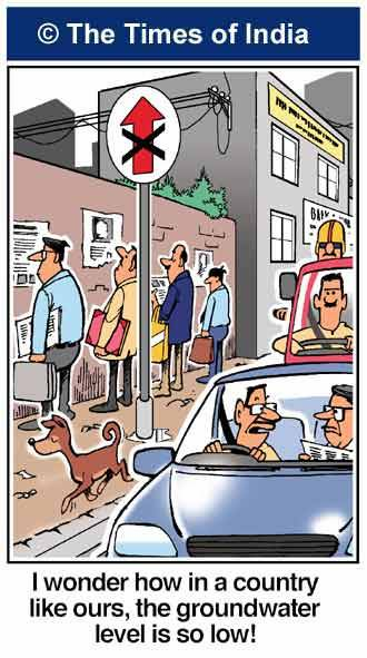 India pee piss wall cartoon