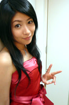 Chihara Minori before a photo-shoot on Tuesday