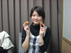 Hayamin in the radio studio