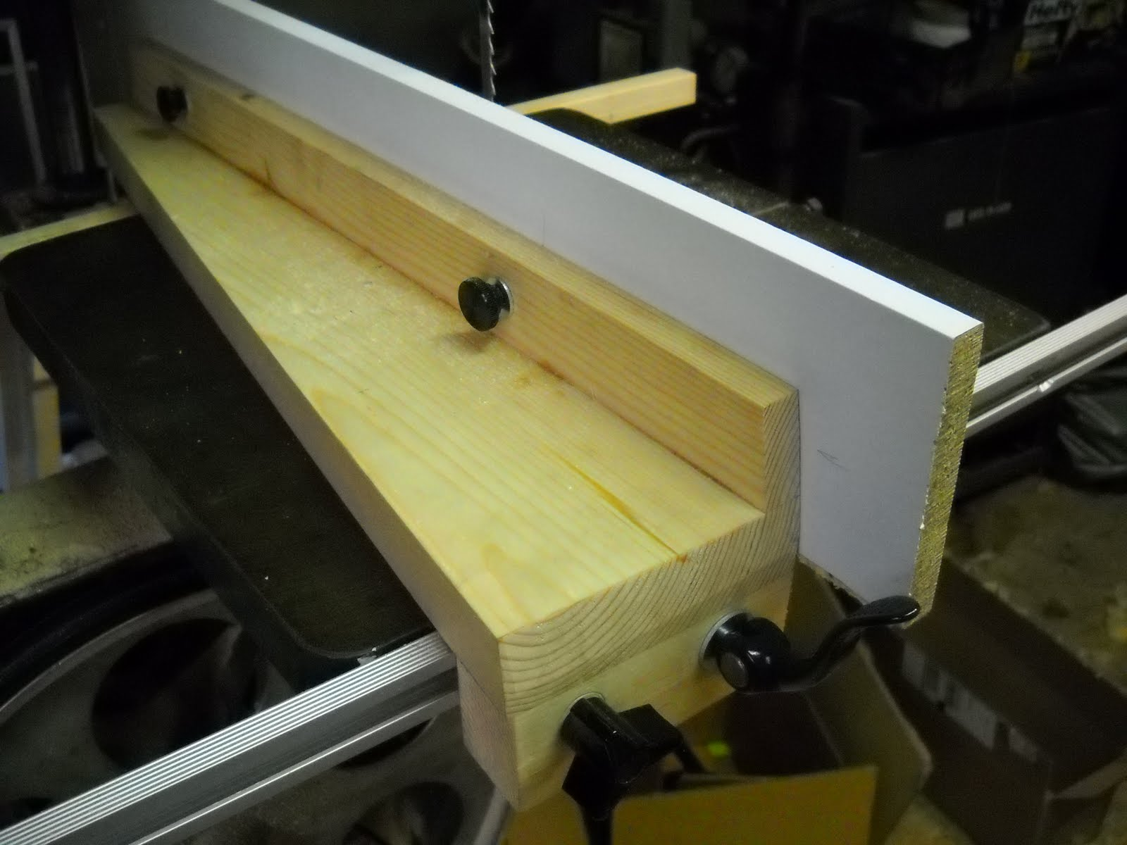 The Woodshop Bug Homemade Bandsaw Fence Band Saw Wiring Diagrams