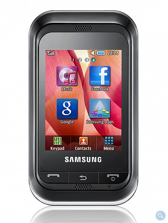 New Samsung Champ Cell Phone
