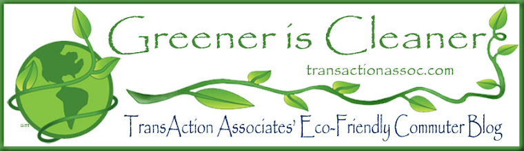 Greener is Cleaner - Transaction Associates, Inc. Eco-Friendly Commuter Blog