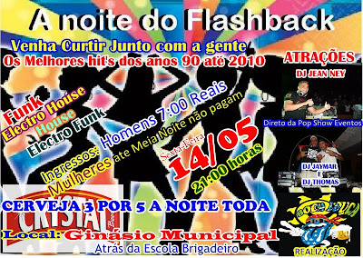 A noite do Flashback