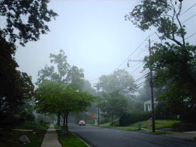 Foggy Morning in Nutley, photo copyright © 2007 by Anthony Buccino, all rights reserved