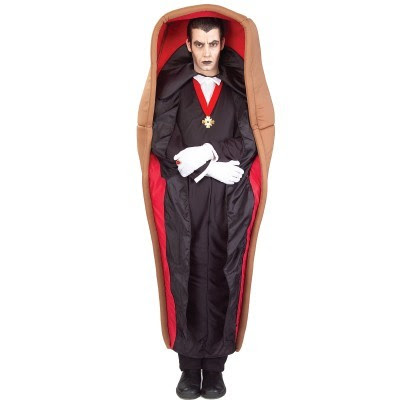 Bizarrevampire-in-a-coffin-halloween-costume pictures 15 Halloween Costume ideas - lol