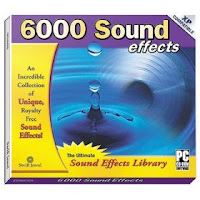 6000 Sound effects CD-ROM