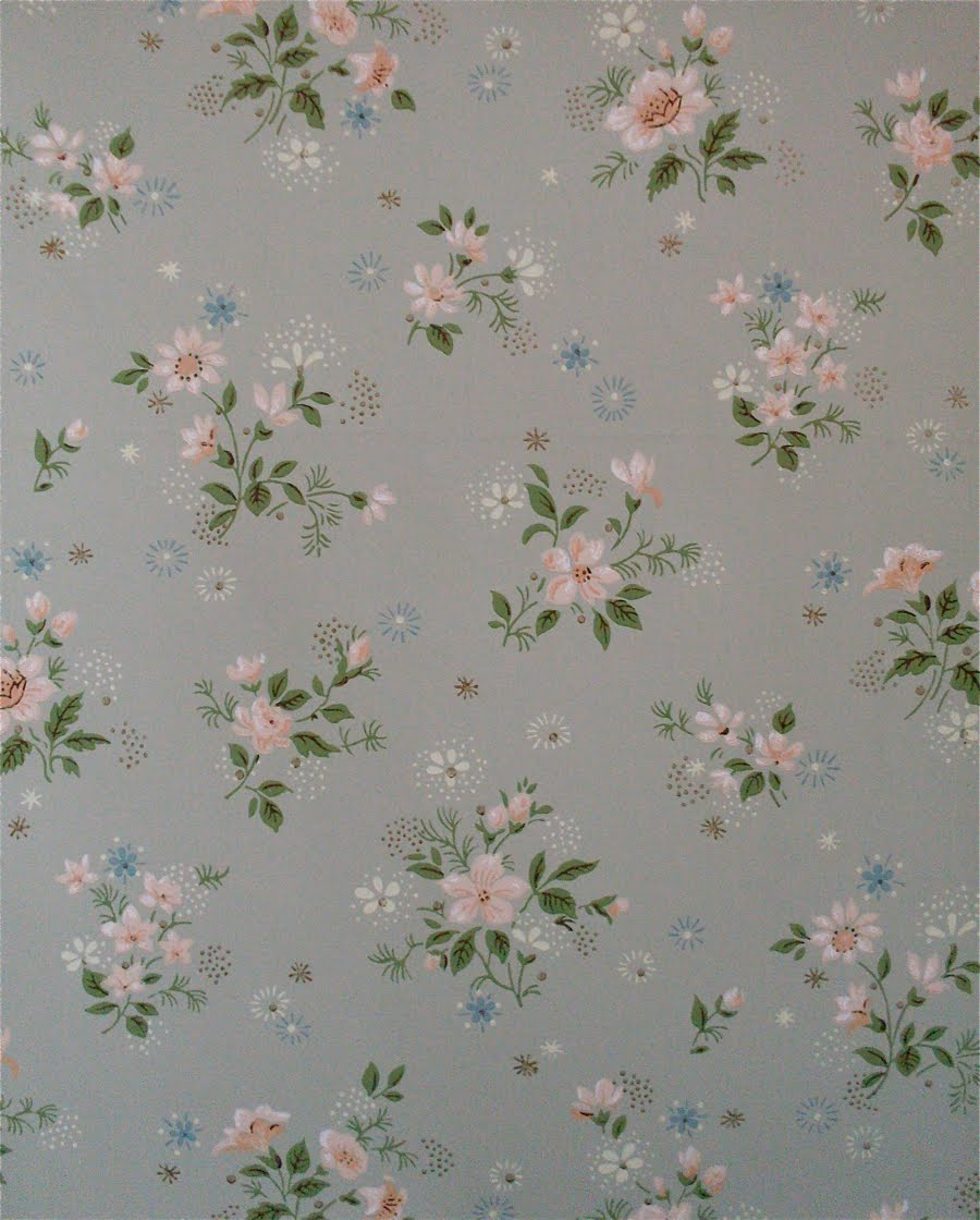 1950's Wallpaper: Florals