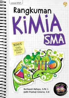 Resensi Buku Sanur: Rangkuman Kimia SMA