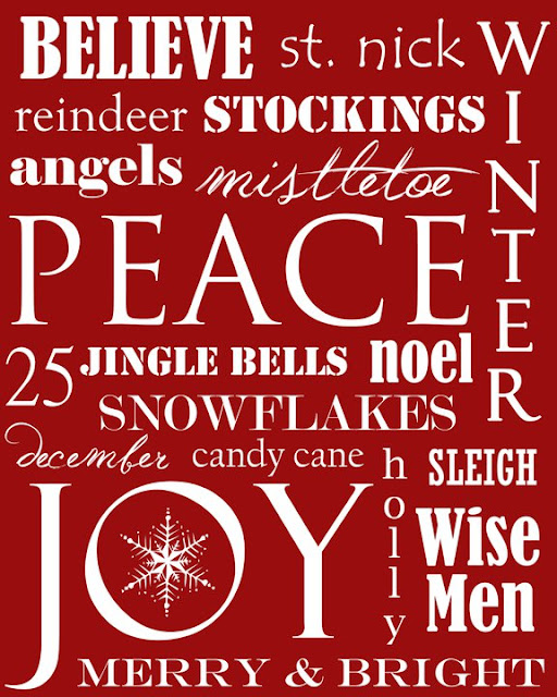 Canny image within printable christmas art