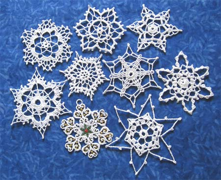 Crochet Snowflake Patterns - fabact, craft ideas