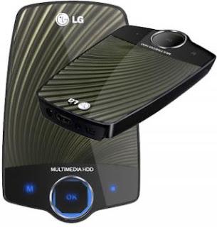 LG XF1 Multimedia Hard Drive