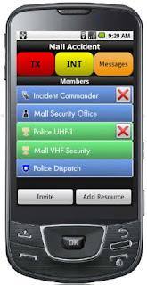 Mutualink Commander Smartphone