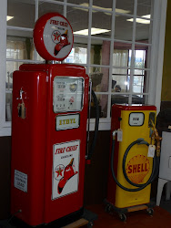 Vintage gas pumps!