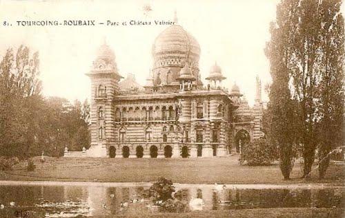Le château Vaissier en 1911