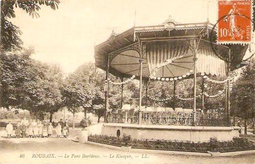 Le kiosque du Parc Barbieux
