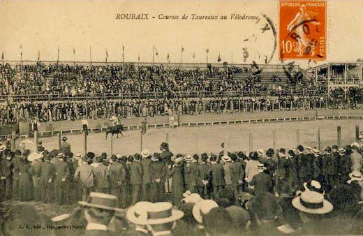 Course de taureaux au vélodrome