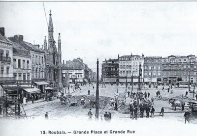 Les 100 ans du grand boulevard l 39 arriv e du grand boulevard roubaix - Boulevard gambetta roubaix ...