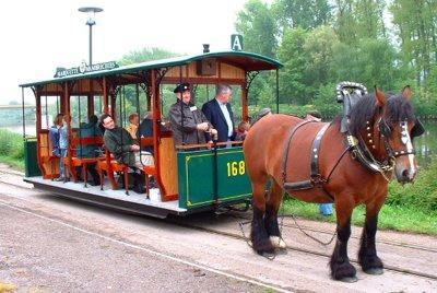 Tram hippomobile 168 TDN