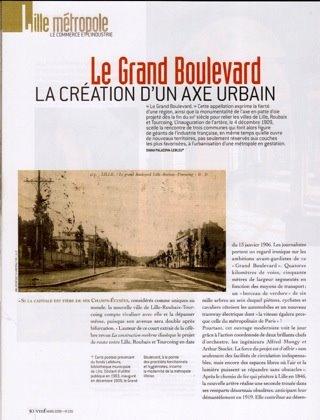 """Le Grand Boulevard dans la revue """" Vieilles Maisons Françaises """" de mars 2009"""