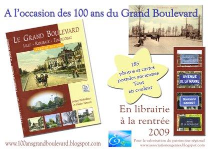 Le livre du Grand Boulevard en avant première