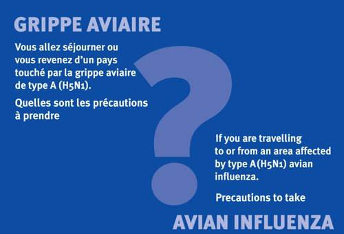 Dpliant grippe aviaire