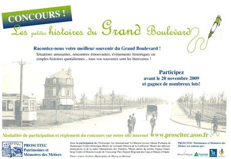 Un concours sur le Grand Boulevard