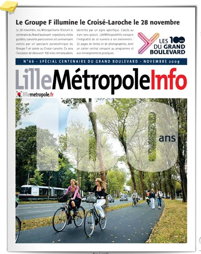 Un numéro spécial de Lille Métropole Info (novembre 2009) consacré au centenaire du Grand Boulevard