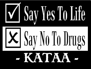 Say No to Drug Slogans http://stayalivefellowship.blogspot.com/2007/11/stay-klean-stay-alive-anti-drugs.html