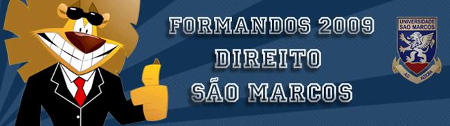 Formandos Direito São Marcos 2009